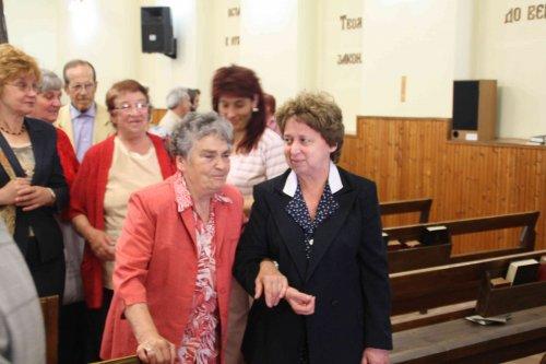 Василка Шолева на посещение